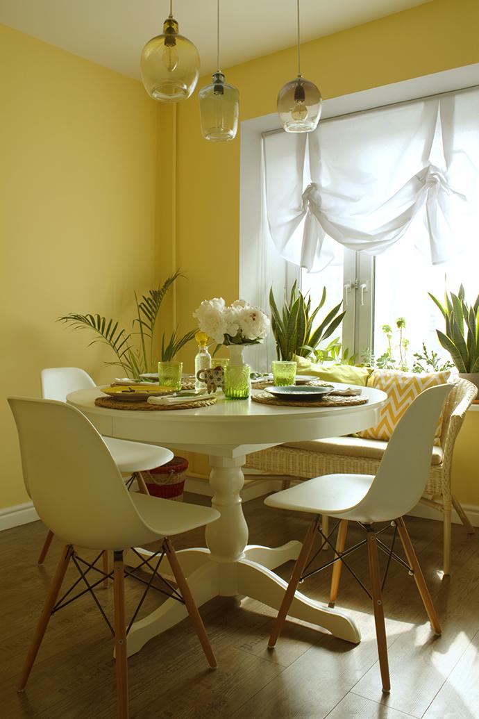 маленькая квартира мужской интерьер Elle Decoration