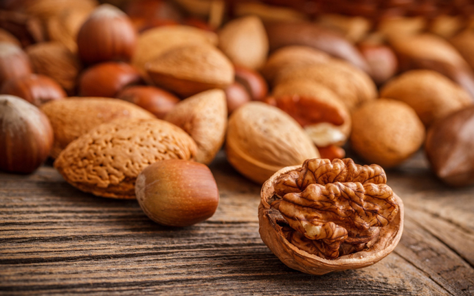 Полезные свойства орехов