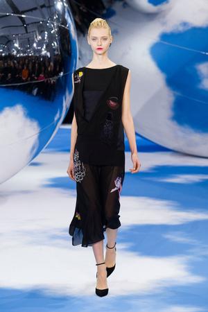 Показы мод Christian Dior Осень-зима 2013-2014 | Подиум на ELLE - Подиум - фото 637