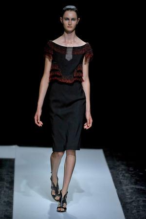 Показ Maxime Simoens коллекции сезона Осень-зима 2011-2012 года haute couture - www.elle.ru - Подиум - фото 278927