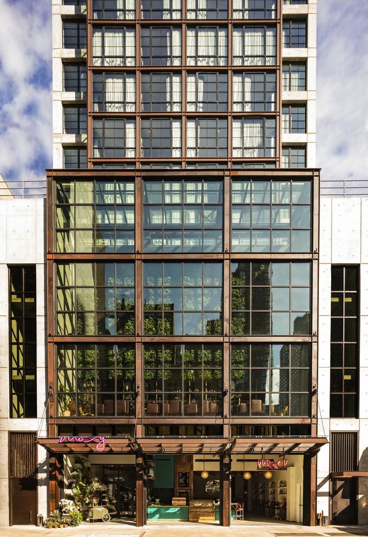Дизайнерский отель с микро-номерами в Нью-Йорке (фото 2)