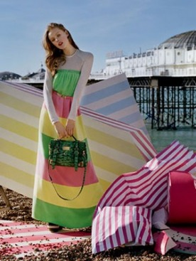Рекламная кампания Mulberry весна-2012