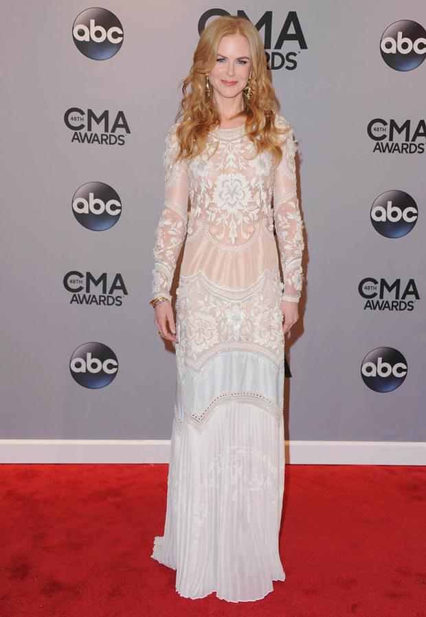 Николь Кидман на церемонии CMA Awards 2014