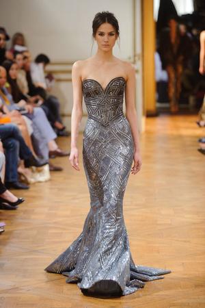 Показ Zuhair Murad коллекции сезона Осень-зима 2013-2014 года haute couture - www.elle.ru - Подиум - фото 556603