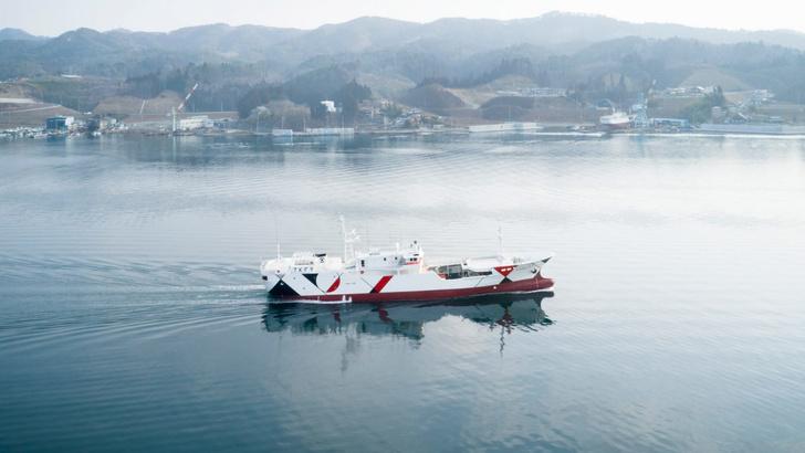 Nendo расписали рыболовное судно (фото 0)