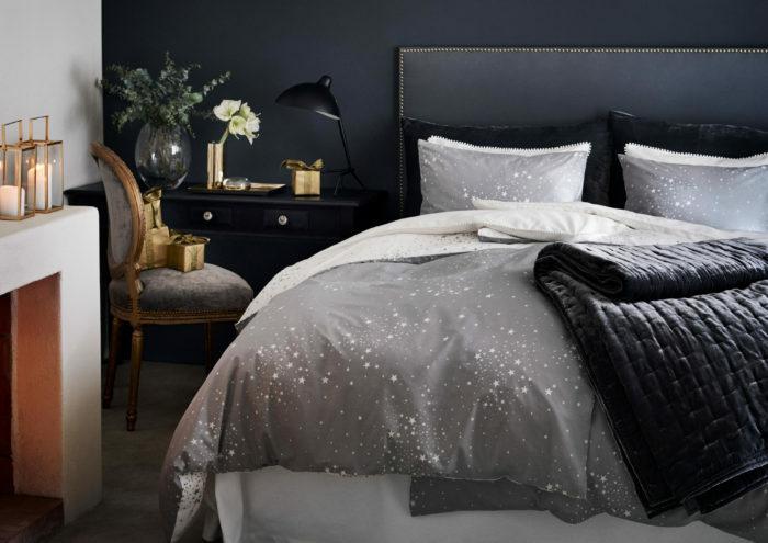 Зима, приходи! Новогоднее настроение в спальне (фото 14)