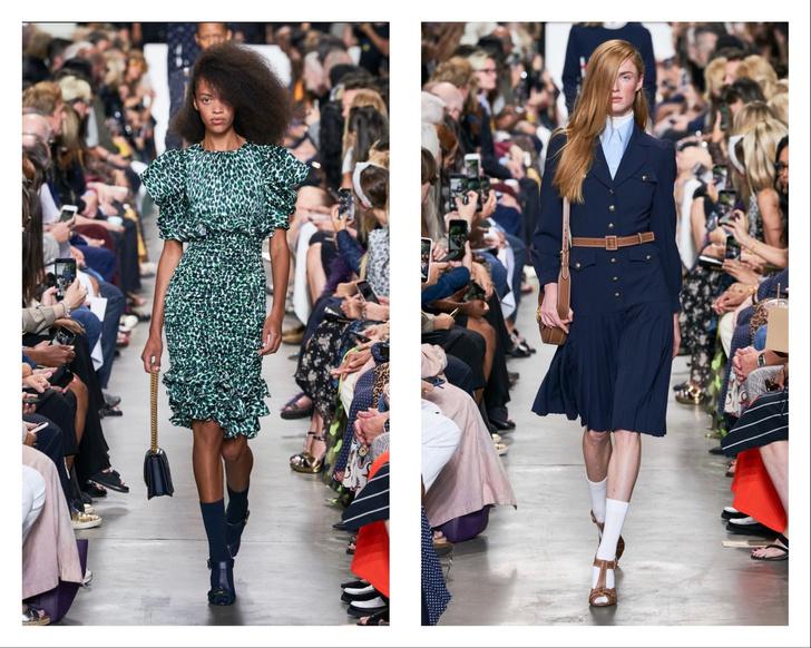 Весна 2020: носки + сандалии — кто их носил на Неделе моды в Нью-Йорке? (фото 1)