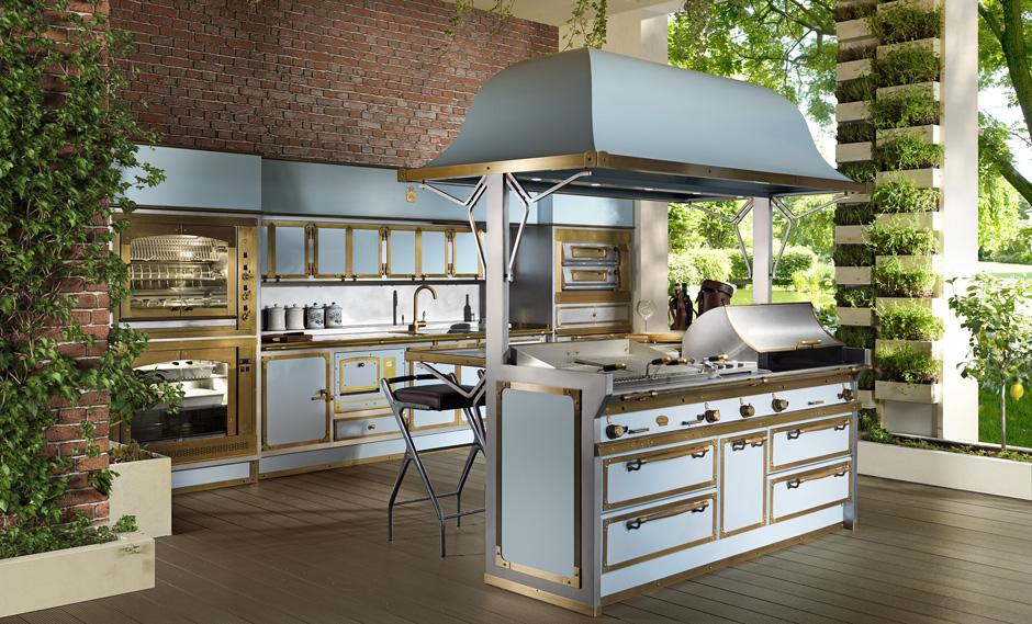 Как обустроить летнюю кухню: полезные советы и новинки (галерея 8, фото 2)