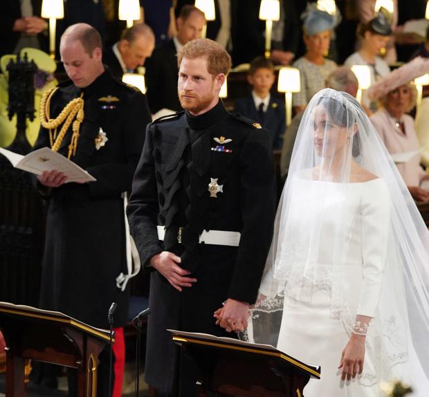 Свершилось! Принц Гарри и Меган Маркл стали мужем и женой (фото 9)