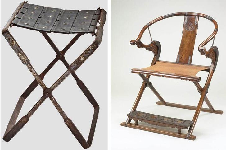 Х-файл: история мебели со скрещенными ножками фото [5]