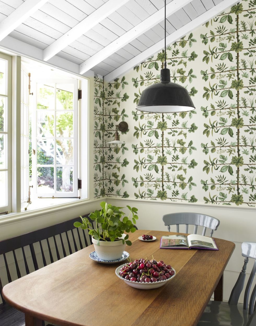 Обои на кухне: 10 свежих идей (галерея 0, фото 3)