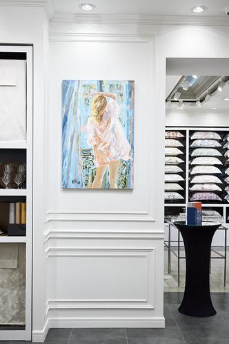 Выставка Елены Сотниковой в бутике Togas (фото 3)