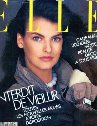 Oh bella! Лучшие обложки ELLE с легендарной Линдой Евангелистой (фото 4.1)