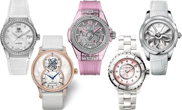Тренд: открытые браслеты и часы в светлой гамме (фото 14)