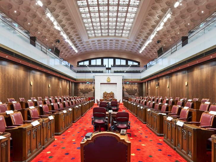 Новый дом Сената Канады в здании бывшего вокзала Оттавы (фото 11)