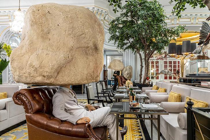 Выставка Сунь Юаня и Пэн Юя в отеле St. Regis в Риме (фото 3)
