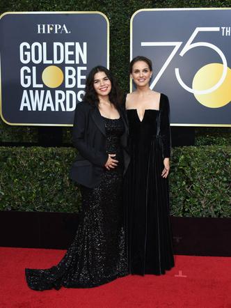 Феноменально похудевшая Натали Портман затмила всех на «Золотом глобусе» (фото 5)