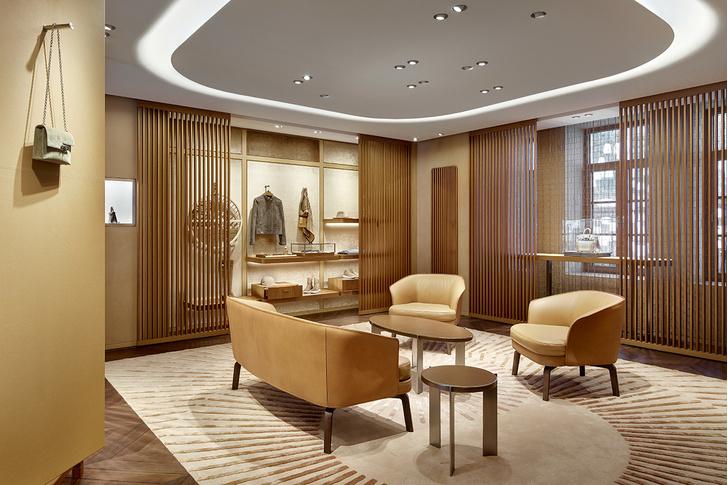 Смена декораций: московский бутик  Hermès (фото 10)