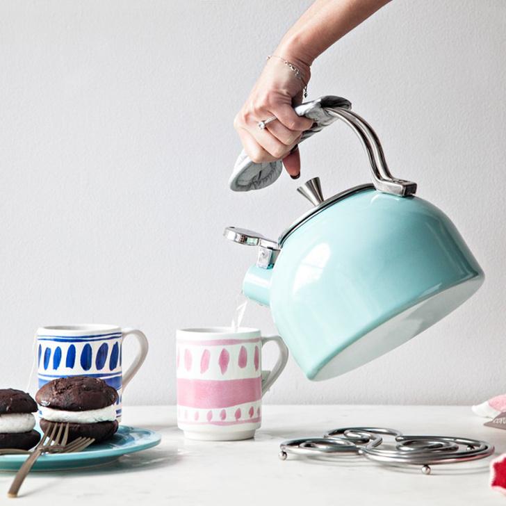 Чайник «со свистком»: неэлектрические чайники для стильной кухни (фото 3)
