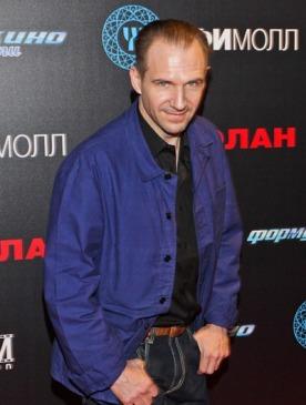 Рэйф Файнс в Москве