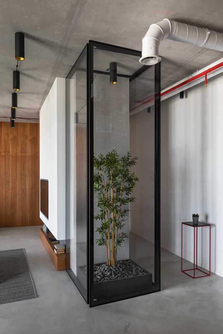 Минималистичная квартира 118 м² в Минске (фото 10)