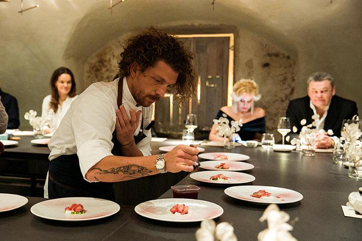 Открылся ресторан Chef's Table