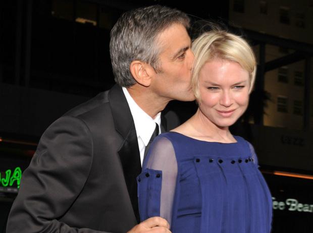 Джордж Клуни и Рене Зелвегер фото