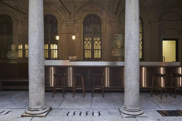 Pop-up ресторан в Милане от Neri & Hu (фото 4)