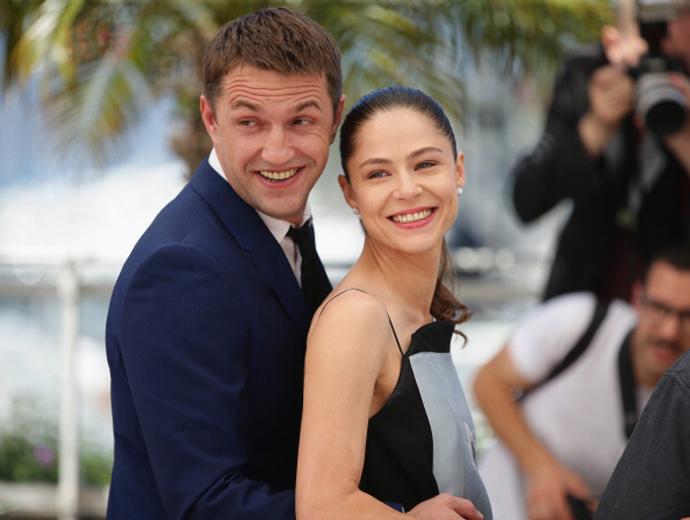 Владимир Вдовиченков и Елена Лядова на 67-м Каннском кинофестивале
