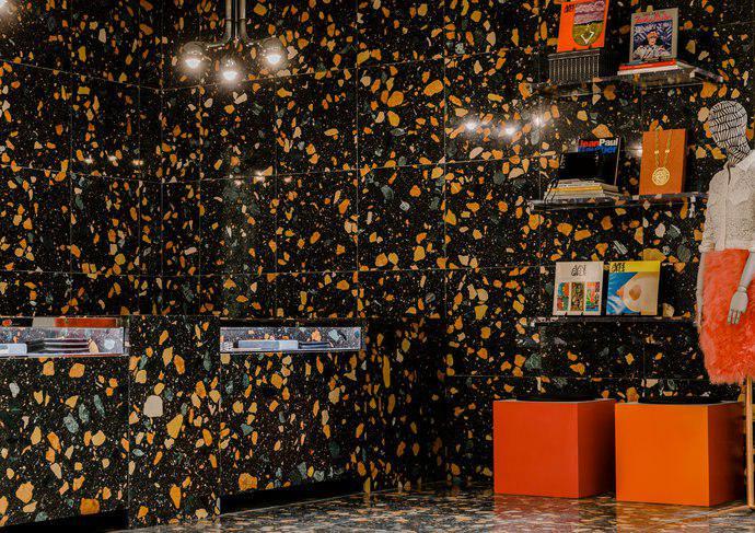 Яркий и необычный бутик по проекту Snarkitecture (фото 3)