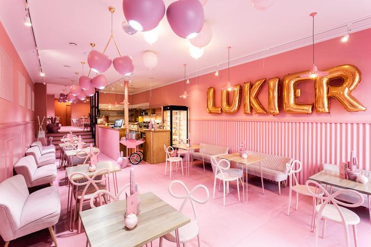 Вишенка на торте: розовое кафе в Лешно (фото 2)
