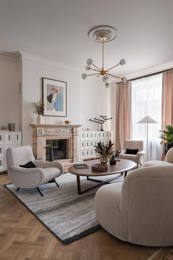 Квартира в стиле Мидсенчури (фото 3)