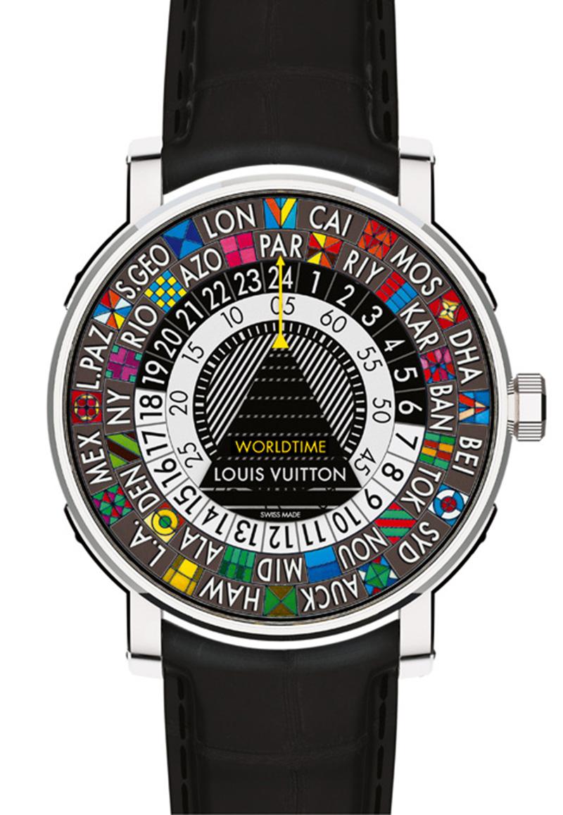 Часы Escale Worldtime, Louis Vuitton, бутики Louis Vuitton, 2 450 000 руб.