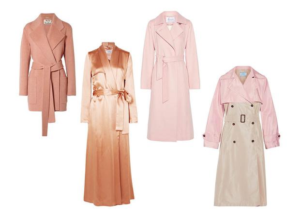 Модные пальто весна 2018 фото