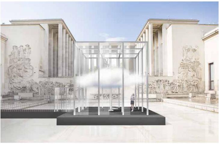 инсталляция Cartier Parfums в Париже