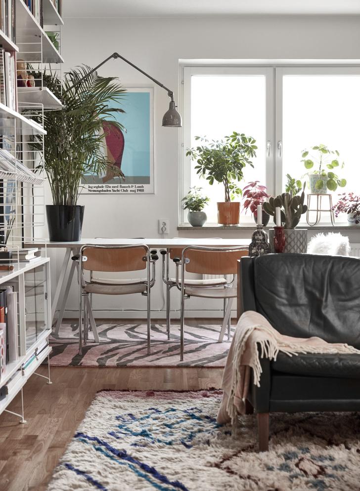 Квартира с винтажной мебелью в Стокгольме (фото 2)