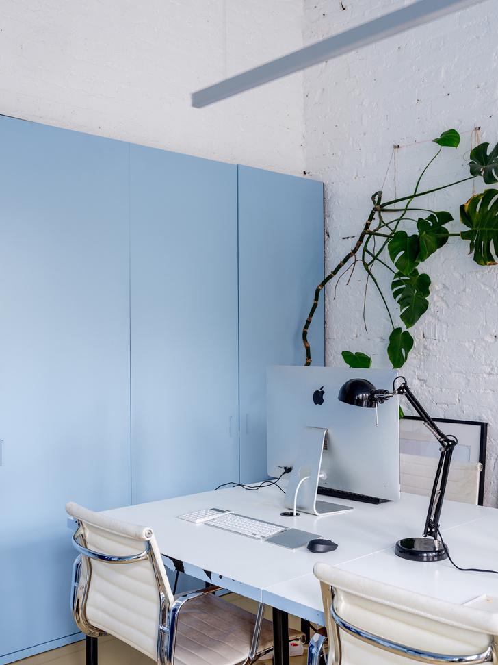 Монохромный офис по проекту Гарри Нуриева (фото 16)