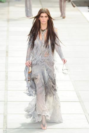 Показы мод Roberto Cavalli Весна-лето 2011 | Подиум на ELLE - Подиум - фото 2531