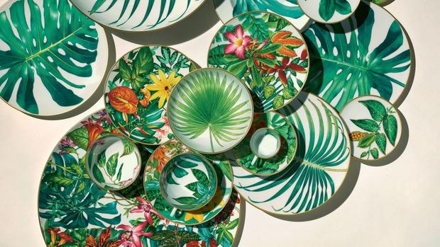 Новая коллекция посуды Hermés Passifolia (фото 0)
