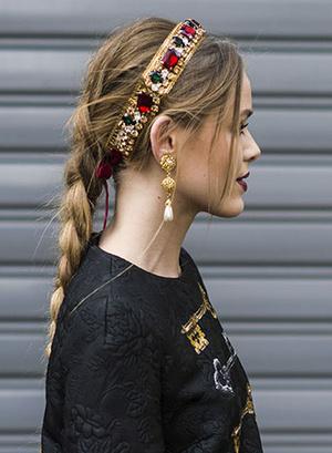 Кристина Базан модные прически весна лето 2015