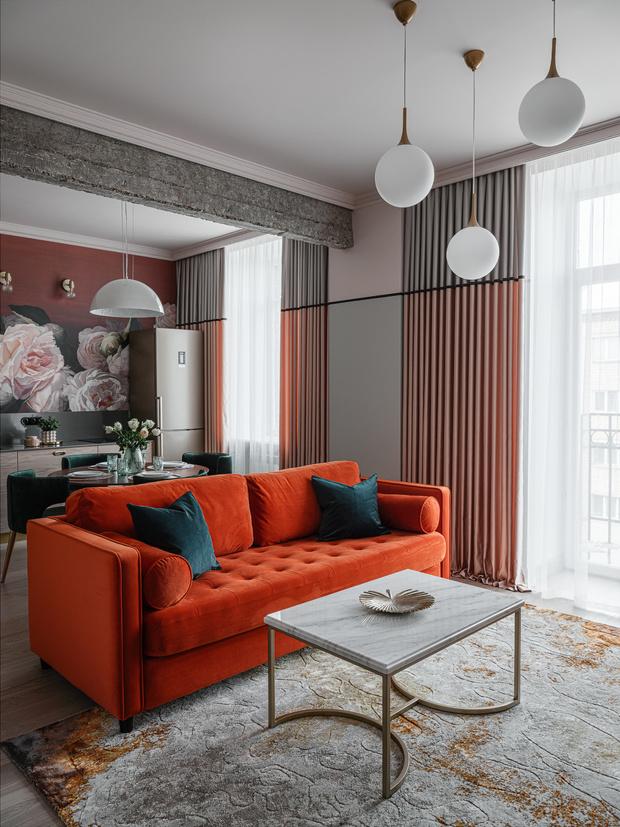 Романтичная квартира в сталинском доме (фото 5)