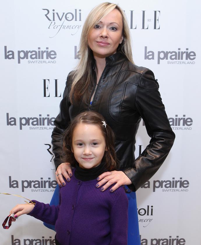 Мария Бутырская с дочкой