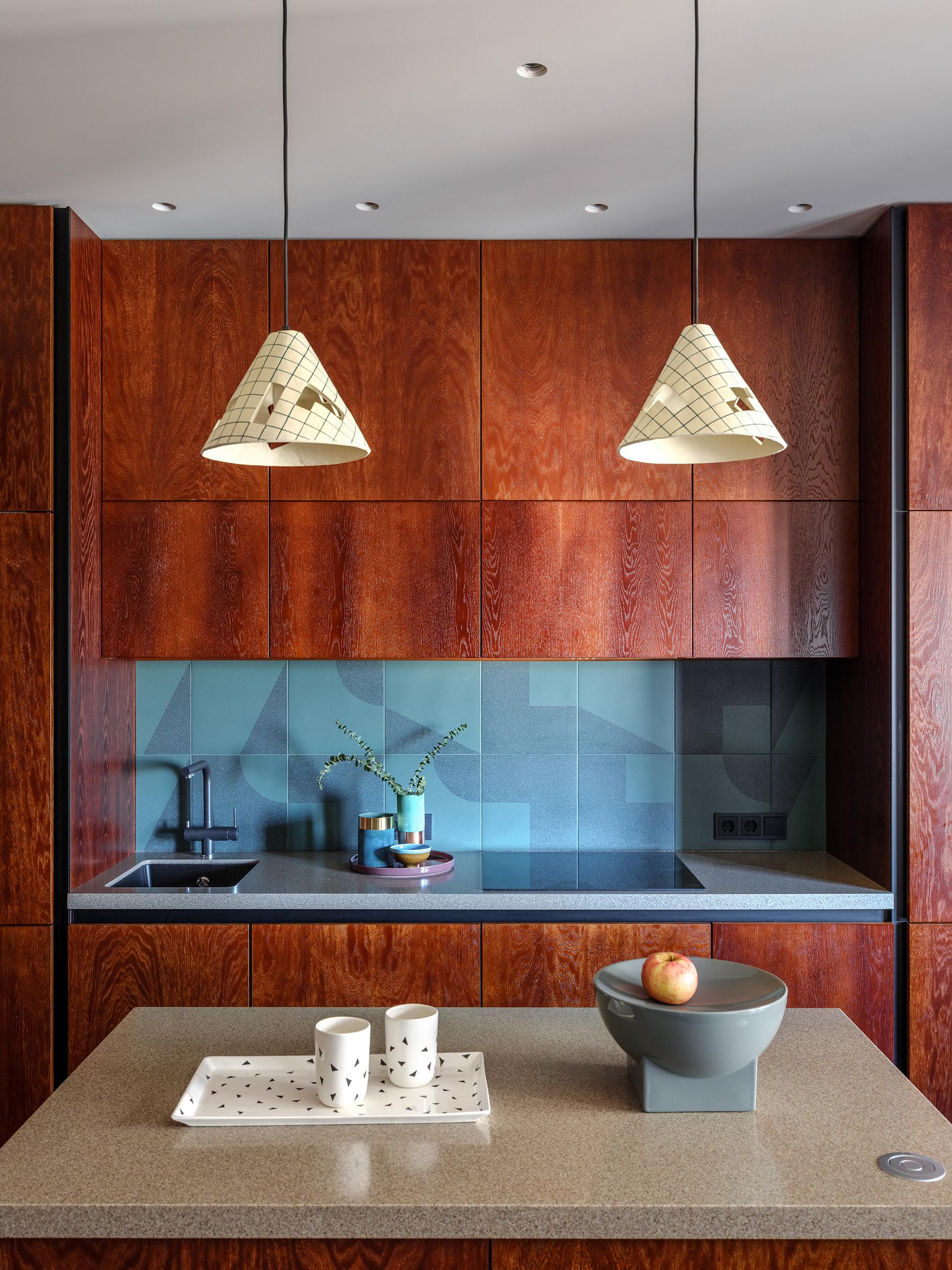 Кухня с деревянными фасадами: 25+ проектов (галерея 0, фото 1)