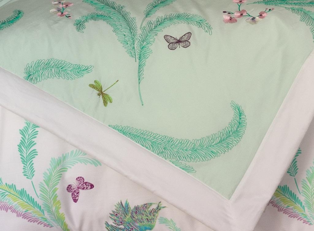 Цветущий вид: новая коллекция постельного белья Yves Delorme | галерея [1] фото [3]