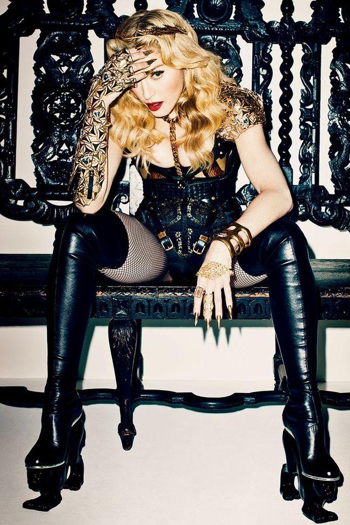 Мадонна в Marlies Dekkers