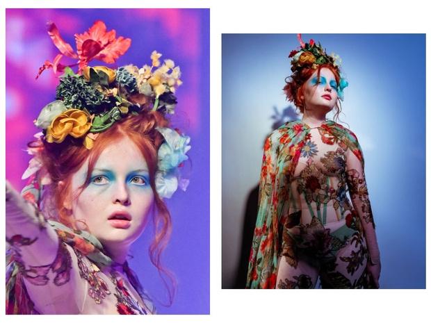 Никакого «нюда»: макияж с последнего показа Jean-Paul Gaultier (фото 15)