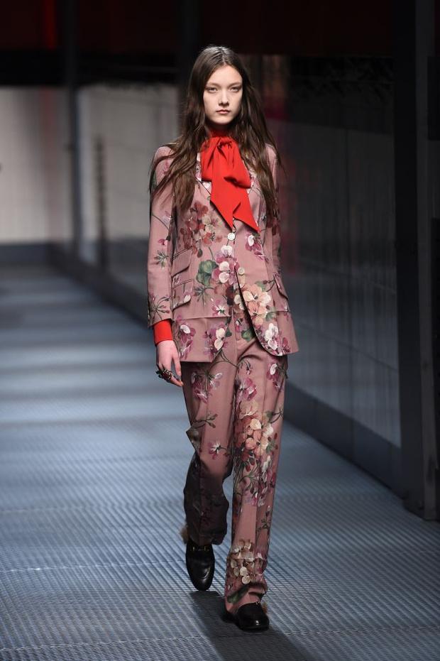 Показ Gucci на Неделе моды в Милане