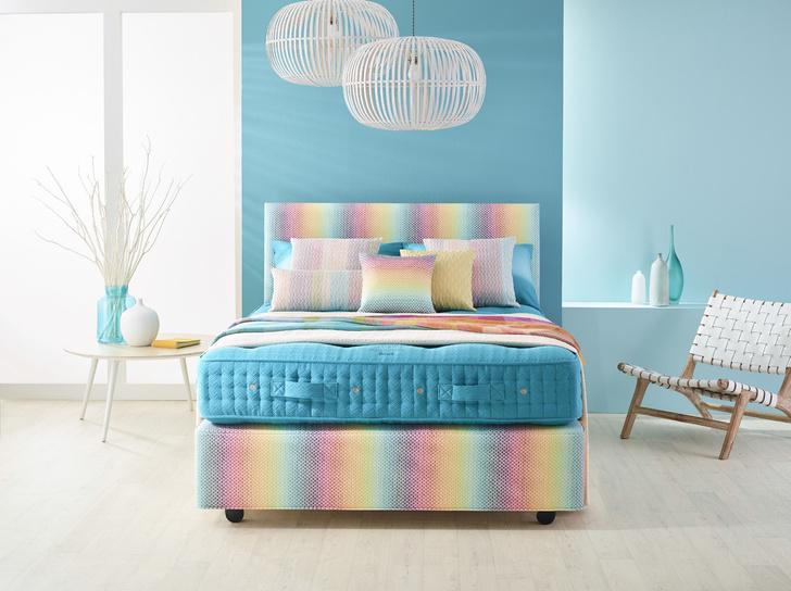 Роскошные кровати от Vispring и Missoni Home