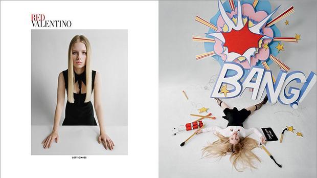 Рекламная кампания Red Valentino осень-зима 2014-2015