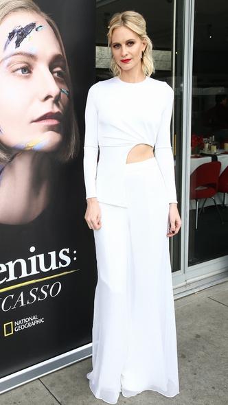 Поппи Делевинь в комплекте Cushnie et Ochs на премьере в Лос-Анджелесе (фото 1.1)